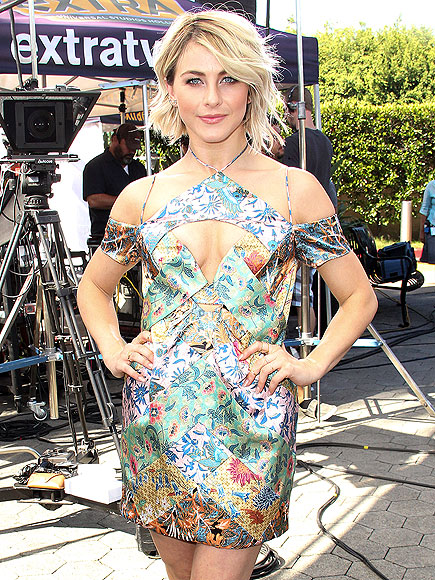 THE DIAMOND DÉCOLLETAGE CUTOUT photo | Julianne Hough