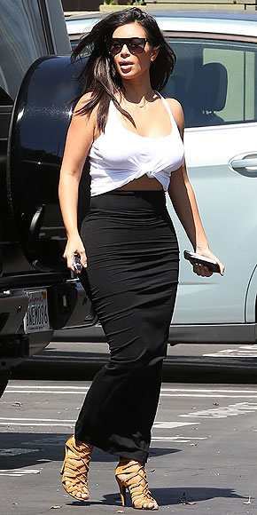 DIY CROP TOPS photo | Kim Kardashian