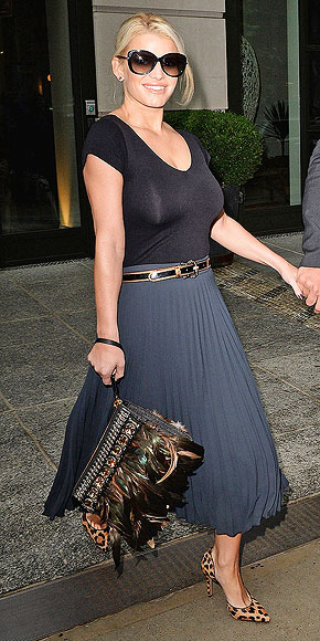 A FULLY FEATHERED PURSE photo | Jessica Simpson