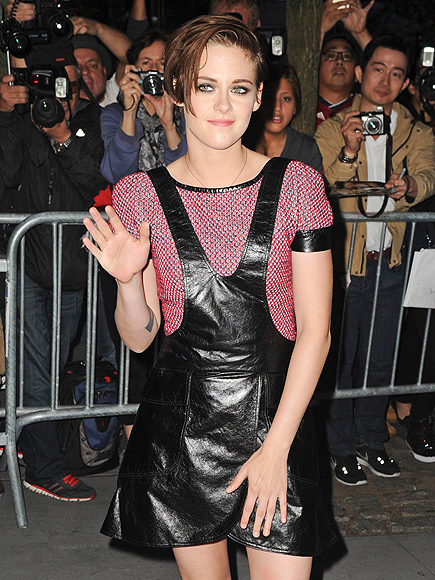 RACERFRONT LEATHER OVERALLS photo | Kristen Stewart