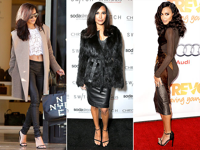 STUART WEITZMAN HEELS  photo | Naya Rivera