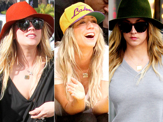 DALLA NONNA CALENDAR NECKLACE  photo | Kaley Cuoco