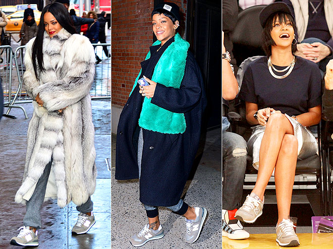 NEW BALANCE SNEAKERS  photo | Rihanna