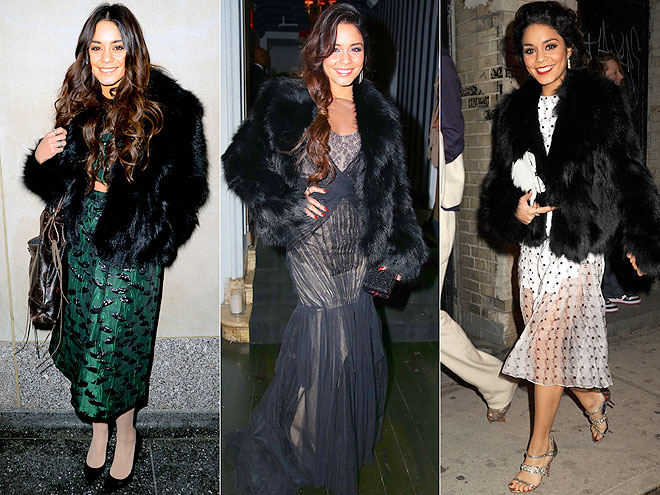 ALICE + OLIVIA COAT   photo | Vanessa Hudgens