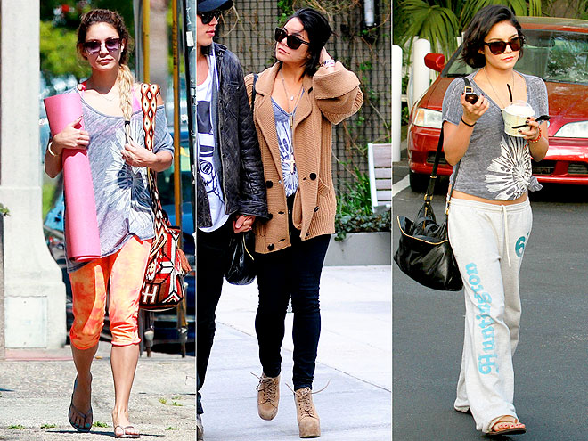 LAUREN MOSHI SHIRT  photo | Vanessa Hudgens