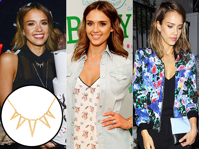 EF COLLECTION NECKLACE photo | Jessica Alba