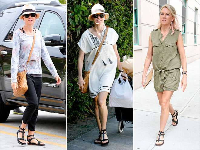 MATT BERNSON SANDALS photo | Naomi Watts