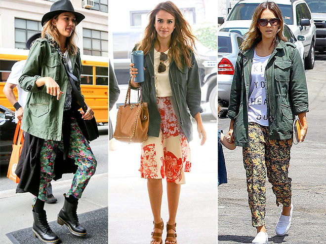 BB DAKOTA JACKET  photo | Jessica Alba