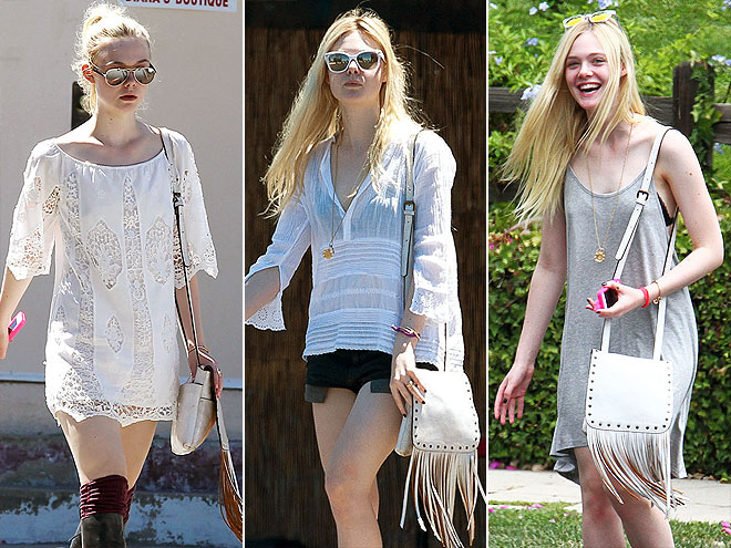 PATRICIA NASH BAG   photo | Elle Fanning