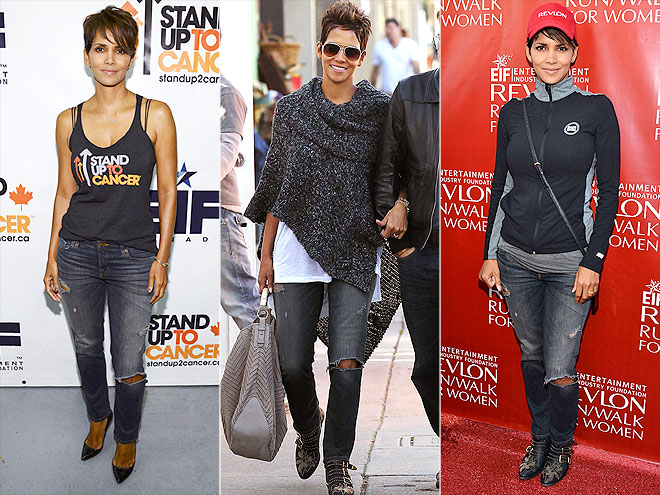 J BRAND JEANS photo | Halle Berry