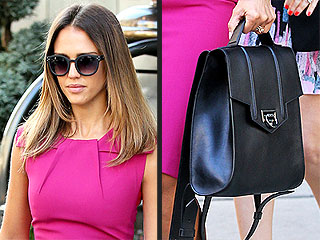 I Really Love My: Jessica Alba's Backpack & More!