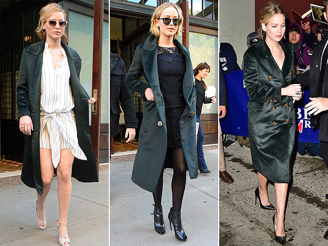 I Really Love My: Jennifer Lawrence's Coat & More!