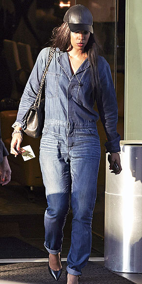 DENIM JUMPSUITS photo | Kelly Rowland