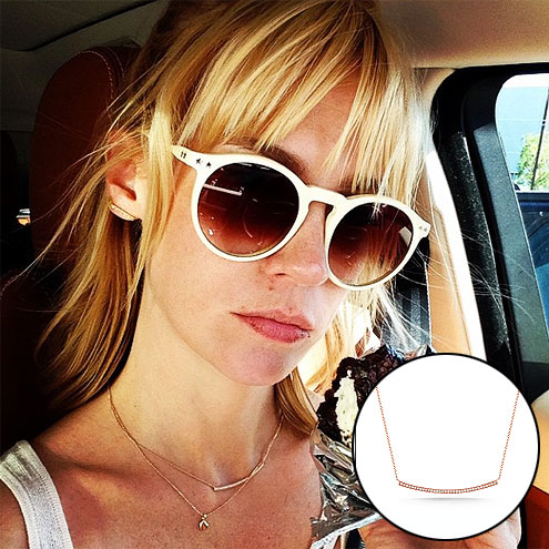JANUARY JONES'S NECKLACE photo | January Jones