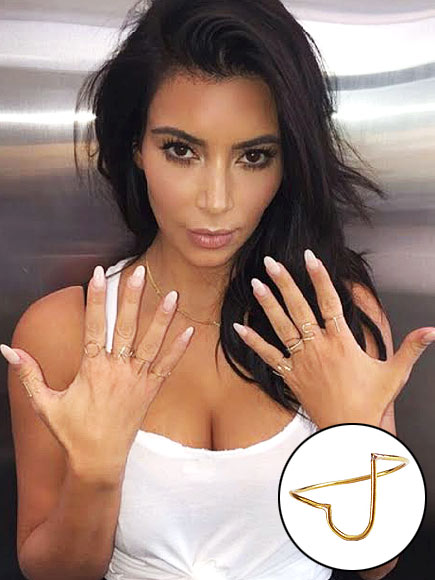 KIM KARDASHIAN'S DELICATE ACCESSORIES photo | Kim Kardashian