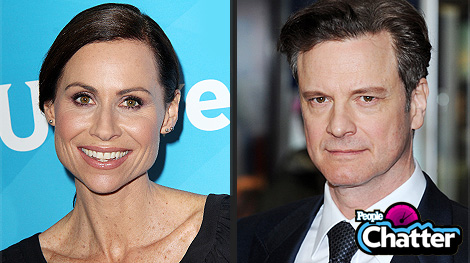 Minnie Driver Said What About Colin Firth?