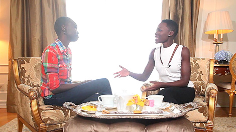 See What Happened When Lupita Nyong'o Met Her Inspiration