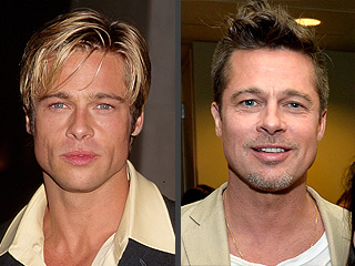 Brad Pitt Turns 51! See His Changing Looks