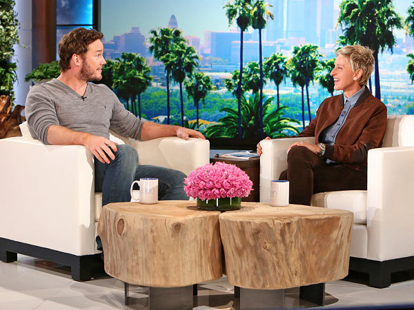 Chris Pratt The Ellen DeGeneres Show