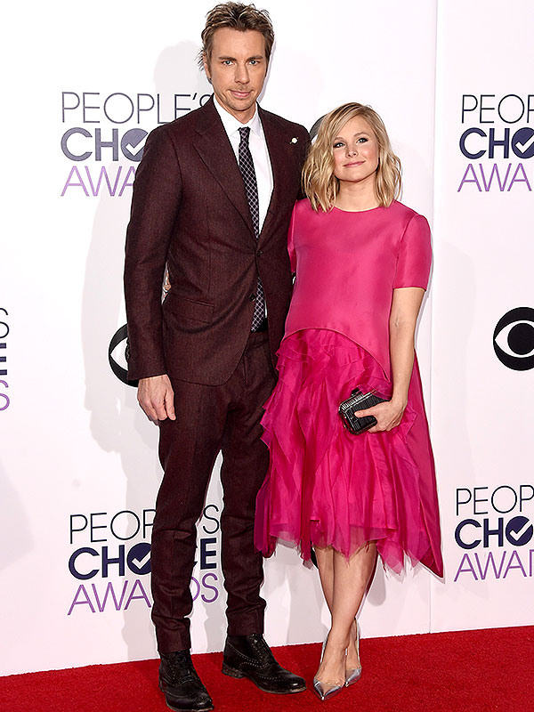 Dax Shepard Kristen Bell People's Choice Awards