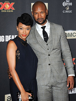 Sonequa Martin-Green Welcomes Son