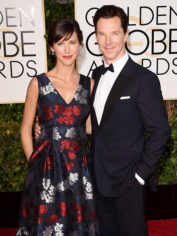 Benedict Cumberbatch Sophie Hunter Golden Globes