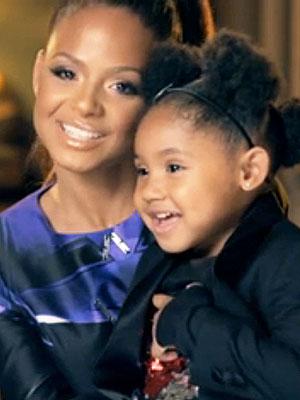 Christina Milian Turned Up Daughter Violet