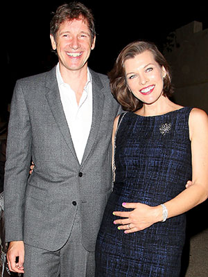 Milla Jovovich Welcomes Daughter Dashiel