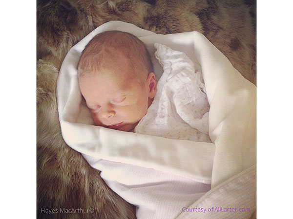 Ali Larter Welcomes Daughter Vivienne Margaret Hayes MacArthur