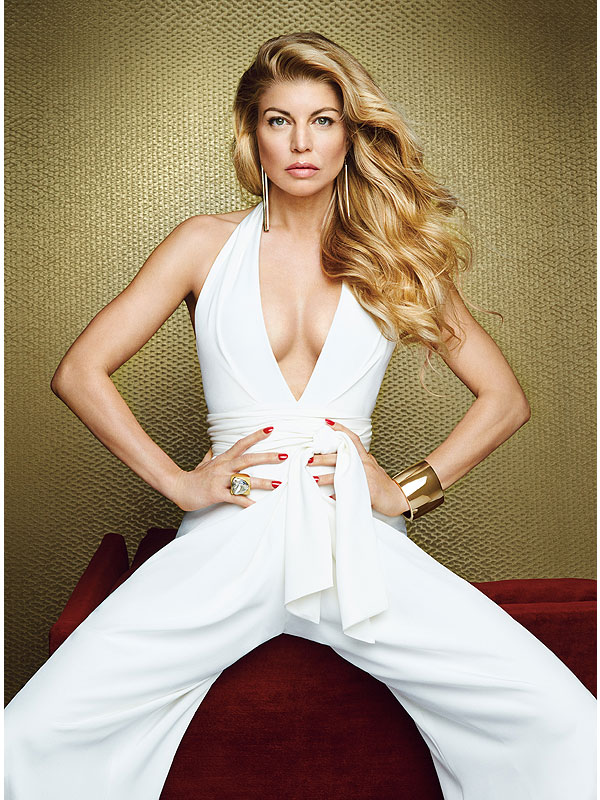 Fergie Allure magazine February cover