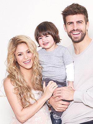 Shakira Gerard Pique Welcome Son Sasha