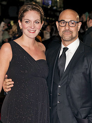Stanley Tucci Felicity Blunt Welcome Son Matteo Oliver
