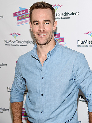 James Van Der Beek Flumist