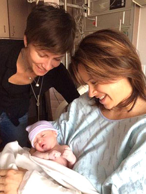 Jenna Wolfe and Stephanie Gosk Welcome Daughter Quinn Lily
