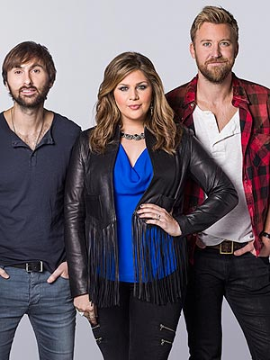 Hillary Scott Lady Antebellum tour