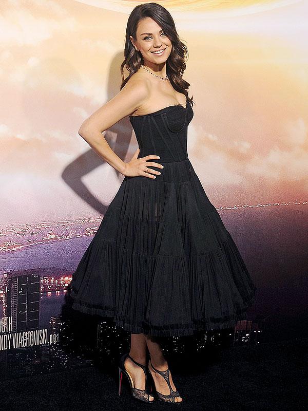 Mila Kunis Jupiter Ascending premiere Los Angeles