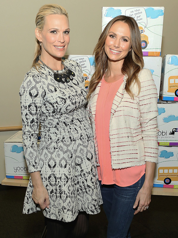 Molly Sims Stacy Keibler Starlight Foundation Los Angeles Childrens Hospital