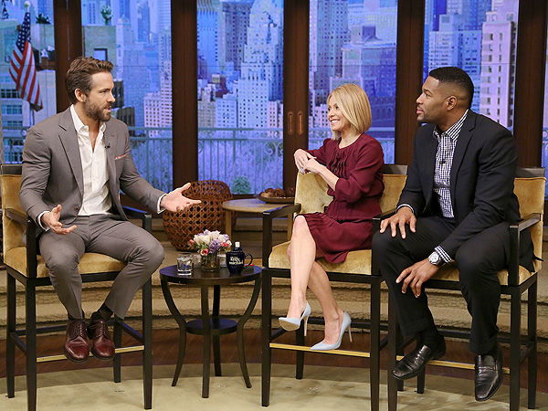 Ryan Reynolds Live Kelly and Michael