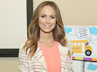 Stacy Keibler: Why I Don't Have a Nanny for My Daughter