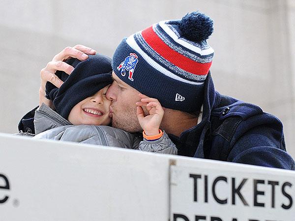 Tom Brady and Benjamin