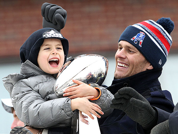 Tom Brady and Benjamin