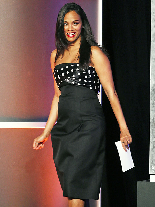 Zoe Saldana Visionary Awards
