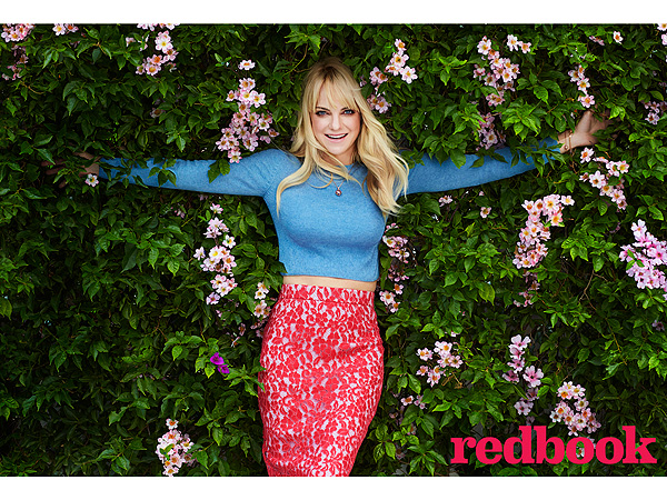 Anna Faris premature labor Redbook magazine
