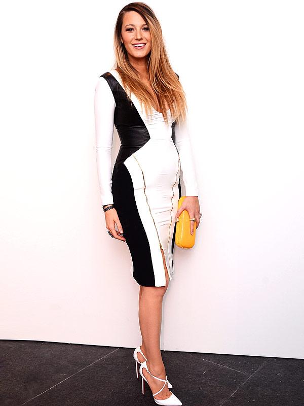 Blake Lively body after baby Gabriela Cardena fashion show