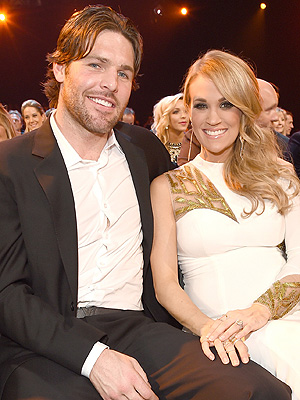 Mike Fisher Carrie Underwood Mike Fisher Isaiah sleeping