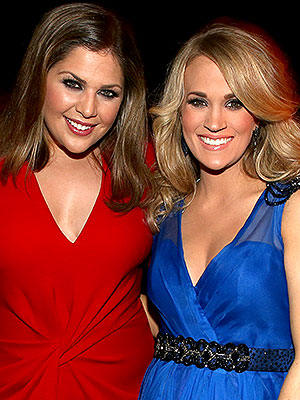 Hillary Scott Carrie Underwood parenting on tour