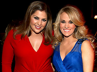 Hillary Scott Tells Carrie Underwood Her Tricks to Touring with a Baby | Carrie Underwood, Hillary Scott