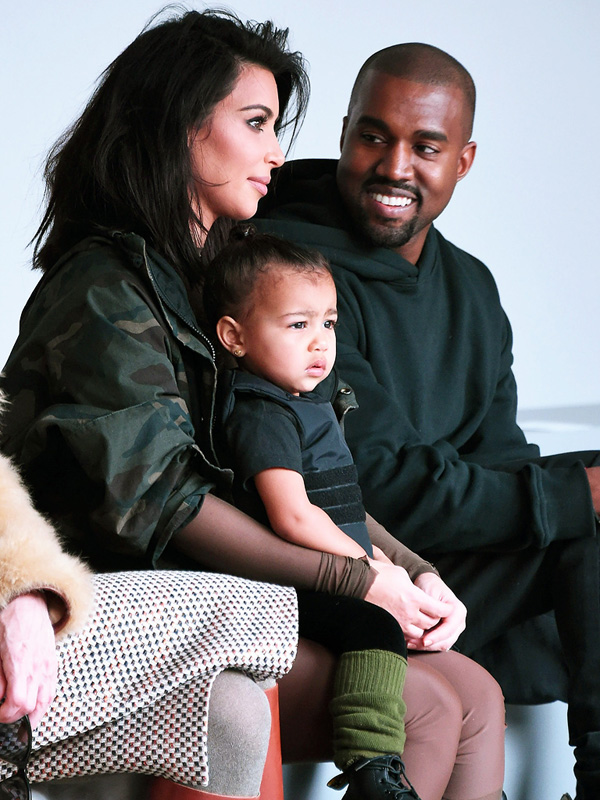 North West Throws Tantrum At Fashion Show