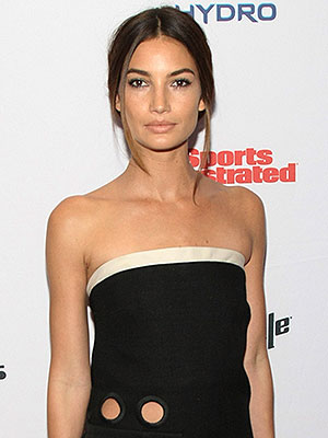 Lily Aldridge Sports Illustrated Swimsuit issue party