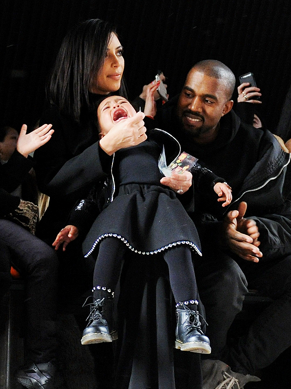 North West Throws Another Tantrum in Front Row of New York Fashion Week